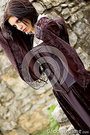 Sexy vampire woman