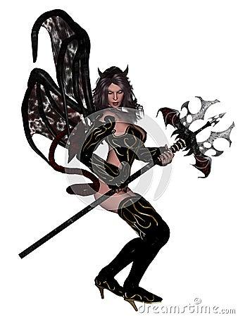 Sexy woman devil