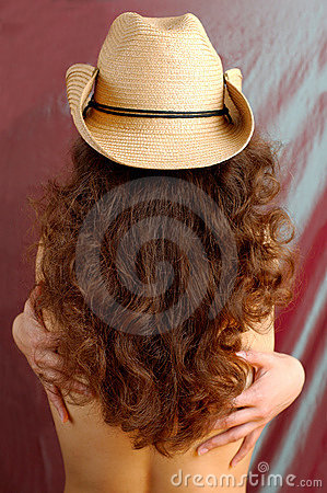 Free Sexy Woman In A Cowboy Hat Royalty Free Stock Photography - 13517227