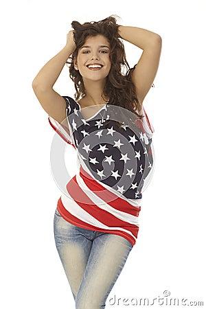 Sexy American girl