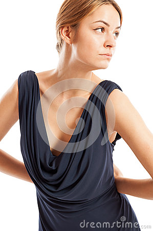 Free Sexy, Young And Elegant Female Model Posing Royalty Free Stock Photo - 49828555