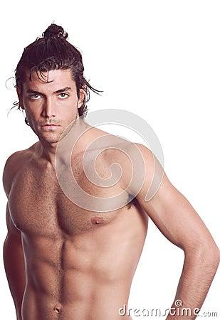 Sexy young man torso