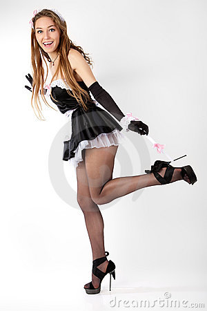 Sexy Young Women French Maid Stock Photos Image 22764313
