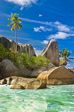 Free Seychelles Beaches Royalty Free Stock Photo - 21599365