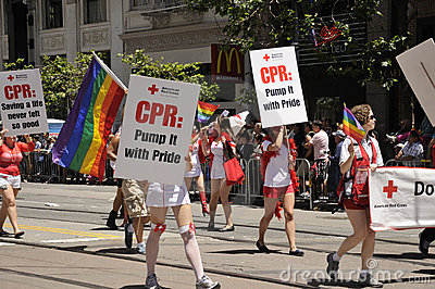 SF Pride Parade 2011 Editorial Stock Image