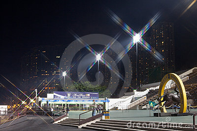 Sha Tin Racecourse, Hong Kong Editorial Photo