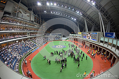 Sha Tin Racecourse, Hong Kong Editorial Stock Image