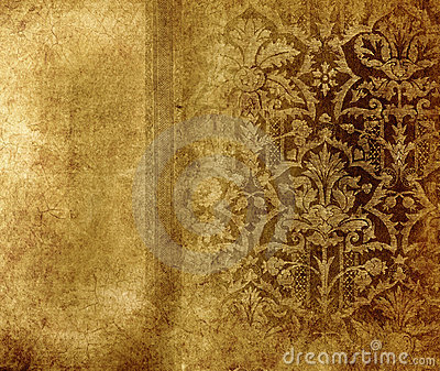 shabby background with classy patterns