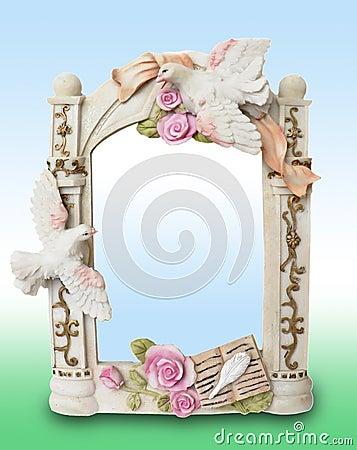 Shabby-chic  Souvenir foto frame
