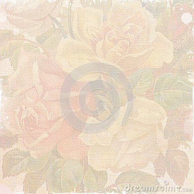 Shabby flowers wallpaper
