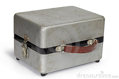 Shabby metal case