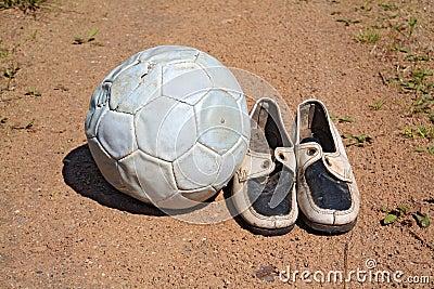 Shabby shoe