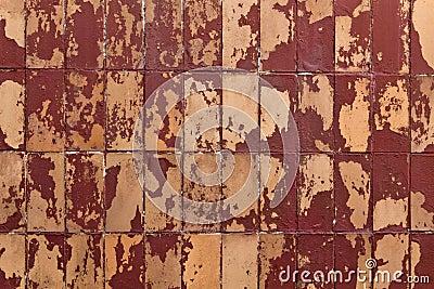 Shabby tiles