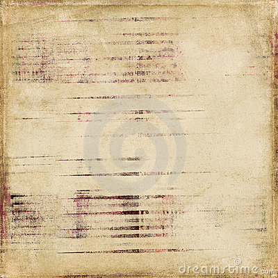 Shabby Vintage Antique Stripe Scrapbook Background