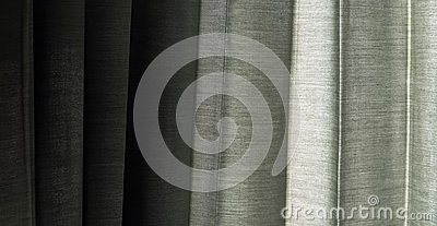 Shade on Curtain