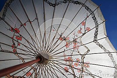 Shade parasol