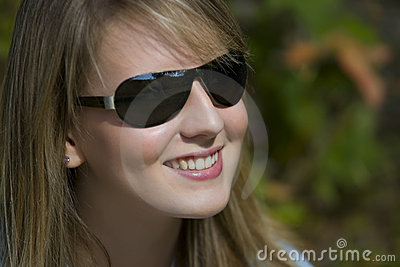 Shades And A Big Smile