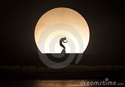 Shadow Dance Editorial Photo