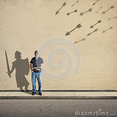 Free Shadow Knight Royalty Free Stock Photography - 45649477