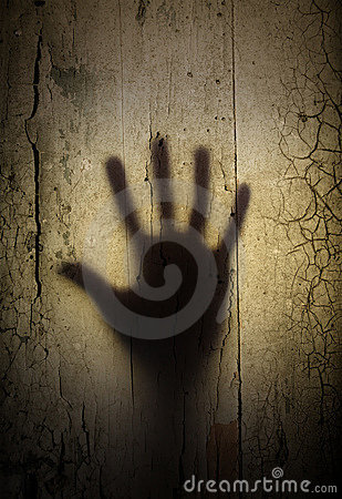 Free Shadow Of Horror Hand Royalty Free Stock Photography - 6835467
