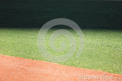 Shadow in the outfield