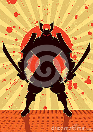 Free Shadow Samurai Royalty Free Stock Photography - 33830367