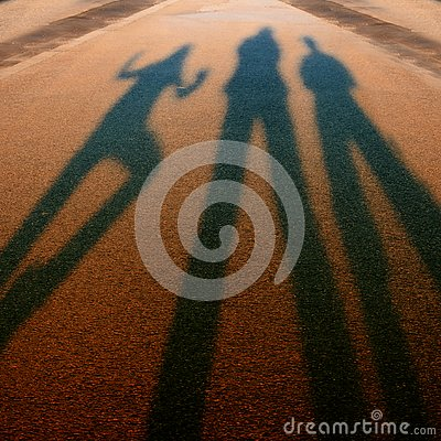 Free Shadows Ending In The Blurs Stock Photos - 130452003
