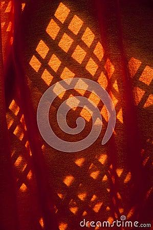 Shadows on Fabric