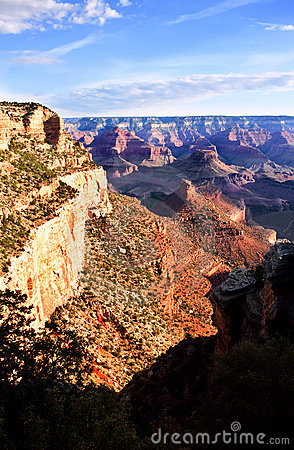 Free Shadows Falling On The Grand Canyon Stock Images - 11333244