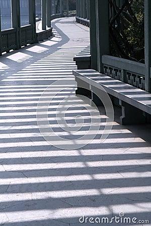 Free Shadows In Modern Corridor Stock Photo - 443810