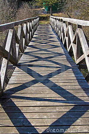 Free Shadows On Bridge Stock Image - 23562491