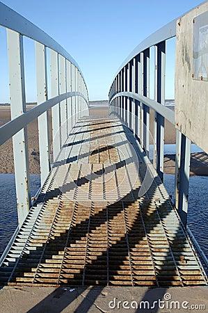 Free Shadows On The Bridge Stock Image - 15988701