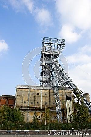Free Shaft Tower Coal Mine Royalty Free Stock Photos - 25828698