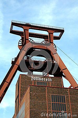 Shaft XII of Zollverein Coal Mine Editorial Stock Image