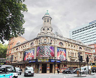 The Shaftesbury Theatre Editorial Photography