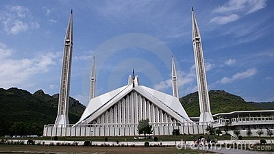 The Shah Faisal Mosque