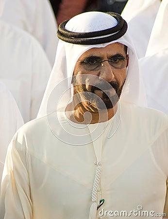 Shaikh Mohammed (Prime Minister) Editorial Photography