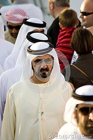 Shaikh Mohammed (Prime Minister) Editorial Stock Image