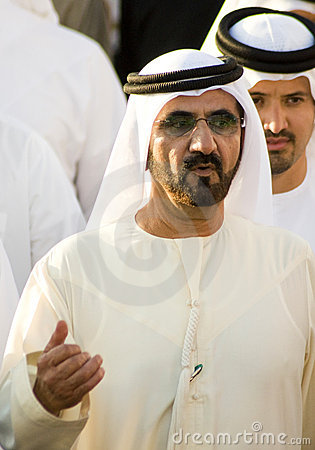 Free Shaikh Mohammed (Prime Minister) Royalty Free Stock Images - 8444019