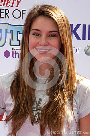 Shailene Woodley Editorial Stock Image