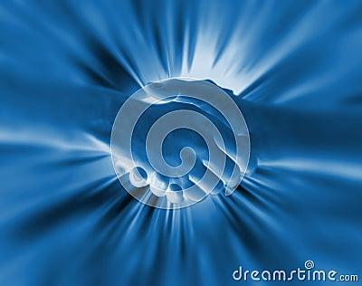 Shake hand background