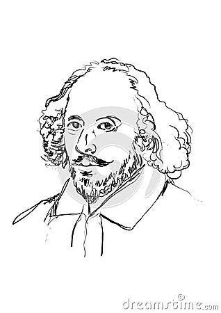 Shakespeare Editorial Photo