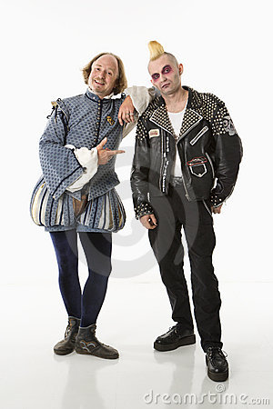Free Shakespeare And Punk. Royalty Free Stock Image - 2678576