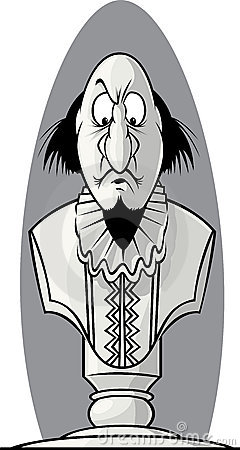 Shakespeare bust