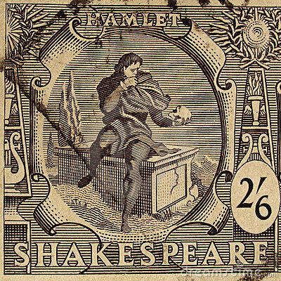 Shakespeare Festival Stamp