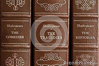 Shakespeare plays Editorial Image