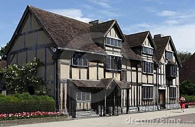Shakespeare s Birthplace Editorial Stock Photo