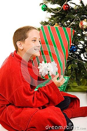 Shaking the Christmas Gift