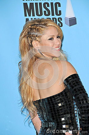 Shakira Editorial Image