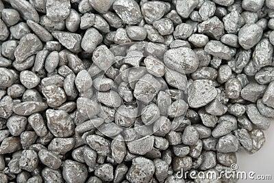 Shallow pebbles
